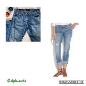 Lucky Brand Sienna Weekender Crop Jeans